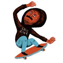 Stickers Edition Limitée Longboard