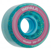 Roues Impala Blue Holographic Glitter 58mm 82a