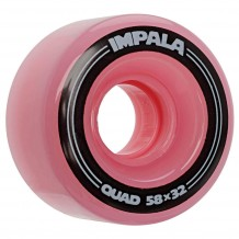 Roues Impala Pink 58mm 82a