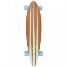 Longboard Koastal Pin Tail 38x8.75'' Wood/White