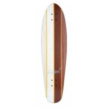 Deck Longboard Koastal Two Face 9.5'' Wood/White