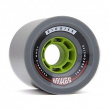 Roues Hawgs Biggies 70mm 76a Grey