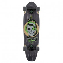 Cruiser Landyachtz Dug Out Grey Skull 31.5""