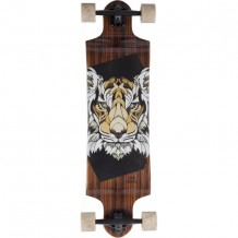 "Longboard Landyachtz Switch 35"" Tiger Brown/Marble"