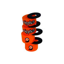 Bushings Loaded Nipples Orange 85a soft x2