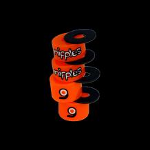 Bushings Loaded Nipples Orange 85a soft