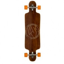 Longboard Lush Freebyrd Wood 9.75'' Wood/Orange