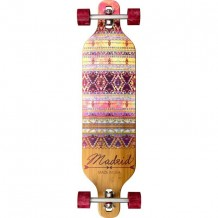 "Longboard Madrid Dream 39"" Indie Bamboo DT"