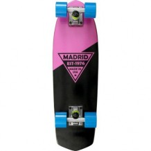 "Cruiser Madrid Party 24"" Pink Metallic Logo Complete"