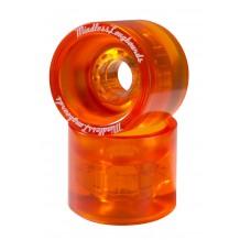 Roues Mindless Team 70m 80A orange