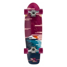 "Cruiser Mindless Sunset 28"" Bordeaux"