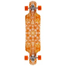 Longboard Mindless Sanke III orange 39""