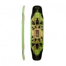 """Deck Longboard Moonshine Elixir 9.5"""" Noir/Vert"""