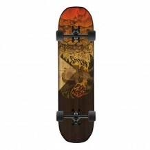 "Longboard Moonshine Firewater 9.625"" Black/Red"