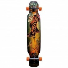 "Longboard Moonshine Hoedown Medium 9.5"" Black/Multi"