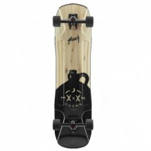 "Longboard Moonshine Hooch 9.875"" Black/Wood"