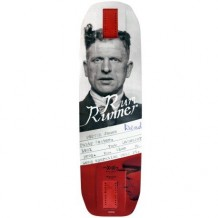 "Deck Moonshine Rum Runner Convict 9.75"" Grey/Red"