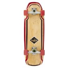 "Longboard Mindless Surf Skate Rouge 30"""