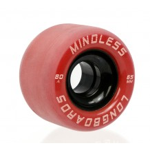 Roues Mindless Viper 65mm 80A Rouge
