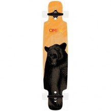 Longboard Omen Artemis 9.5'' Wood/Black/White