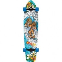 Longboard Omen King Surf 9.5'' Multi/Blue