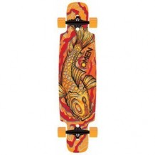 Longboard Omen Koi 9.5'' Red/Orange