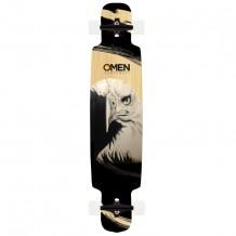 """Longboard Omen Majestic 9.5"""" Black/White"""