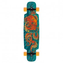 "Longboard Omen Octopoda 9.5"" Blue/Orange"