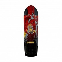 Deck longboard Omen Phoenix 9.75'' Multi/Black/Red