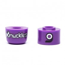 Bushings Loaded Knuckles Violet 87a medium x2