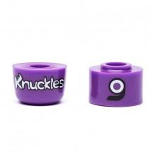Bushings Loaded Knuckles Violet 87a medium x2