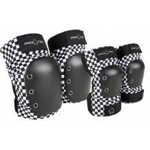 Pack de Protections Pro-Tec genoux/coudes Checker