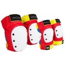 Pack de Protections Pro-Tec genoux/coudes Retro