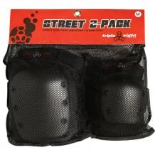 Pack de Protections Triple 8 Street 2 genoux et coudes-package-1