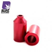 Pegs Blunt Aluminium rouge