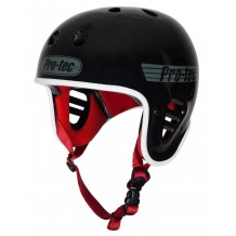 Casque Pro-Tec Full cut Noir/Rouge