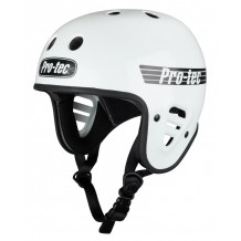 Casque Pro-Tec Full cut Blanc