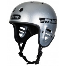 Casque Pro-Tec Full cut Matt Grey Glitter