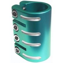 Quadruple collier de serrage Blazer Pro teal