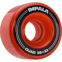 Roues Impala Red 58mm 82a