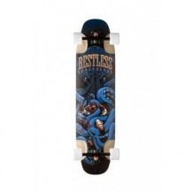 "Longboard Restless FishBowl ""Octo"" 9.33''x37"" Blue/Multi"