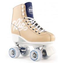 Rio Roller Script Quad Skates Beige