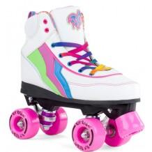 Rio Roller Classic II Roller Quad Enfant / Adulte Blanc