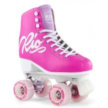 Rio Roller Script Quad Skates Fushia