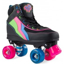 Rio Roller Classic II Roller Quad Enfant / Adulte Noir