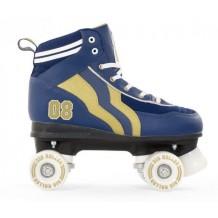 Roller Quad Rio Varsity blue Gold enfant