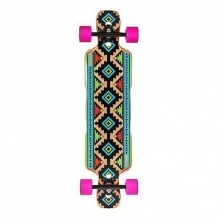 "Longboard Riviera Dineh 8.75"" Multi/Green/Purple"