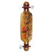 "Longboard Riviera Fire Blossoms 9.5"" Multi/Wood/White"