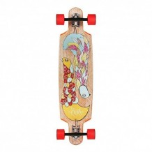 "Longboard Riviera Gemini 9.5"" Multi/Wood/Red"