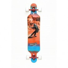"Longboard Riviera Unbound 8.6"" Orange/Blue/White"